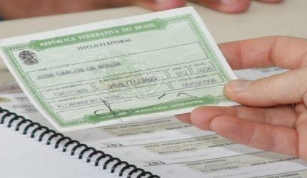 Eleitores têm até 9 de maio para tirar ou transferir título