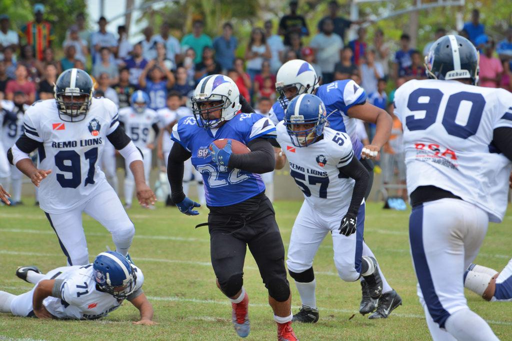 1º Jogo de Futebol Americano em São Luis-Ma Sharks X Remo Lions (Foto  Karlos  Geromy) 6337fd31a8670