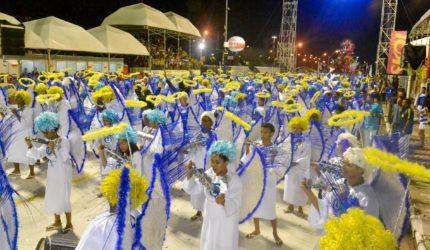 Turma do Quinto encerra os desfiles no carnaval de 2017