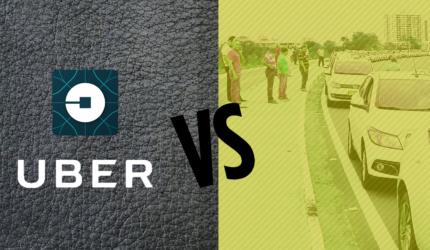 Comparativo Uber x Táxi