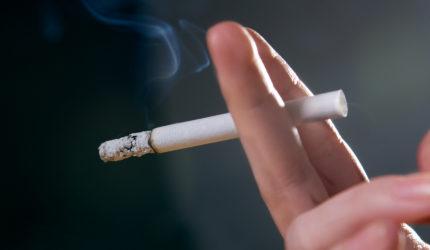 Fumantes consomem em média 13 cigarros por dia