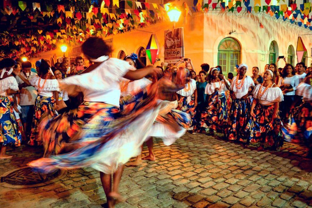O Tambor de Crioula é uma manifestação típica maranhense.