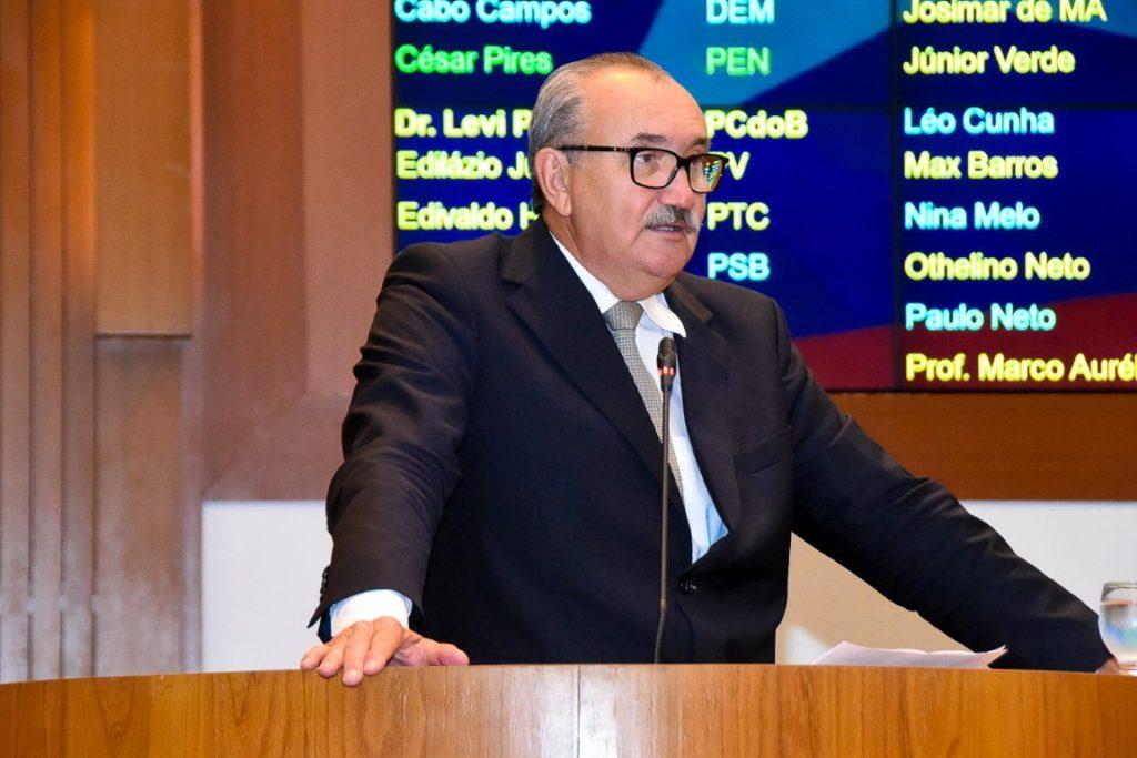 O projeto de lei é de autoria do deputado César Pires.