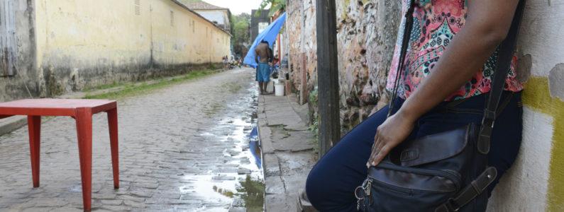 O dia a dia em um dos principais pontos de prostituição da capital