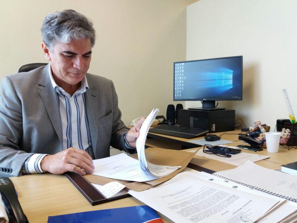 Promotor do Idoso José Augusto Cutrim Gomes. Foto: Esaú Araújo.