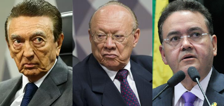 Edison Lobão (PMDB-MA), João Alberto Souza (PMDB-MA) e Roberto Rocha (PSB-MA) foram favoráveis à reforma.