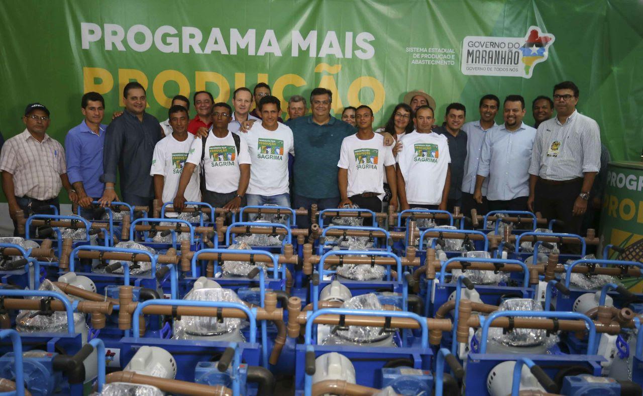 o governador Flávio Dino participou do evento e garantiu a continuidade do suporte para o setor produtivo do Maranhão.