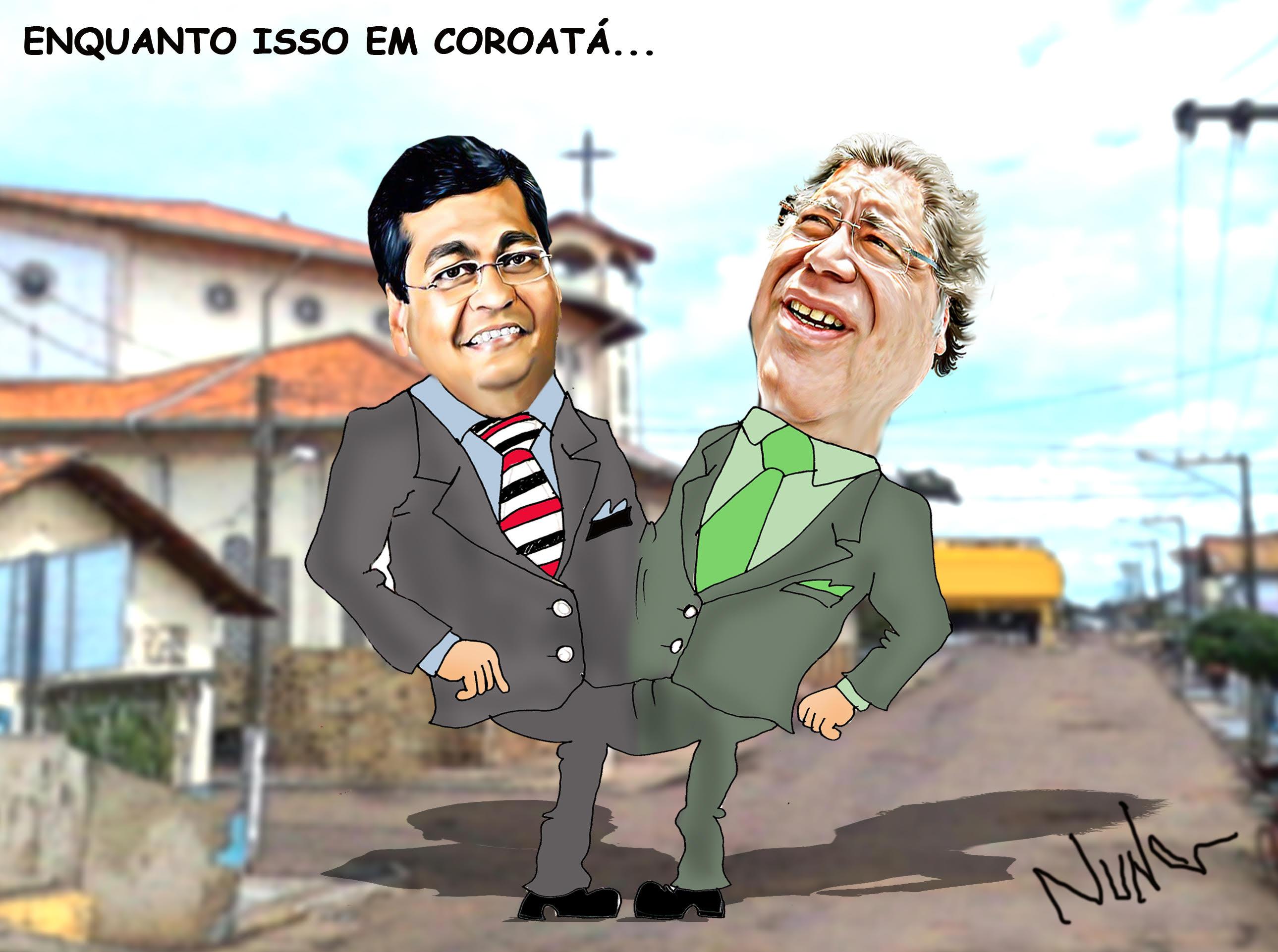 Charge por Nuna Neto.