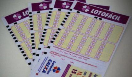 LotoFácil tem quatro acertadores; R$ 520 mil para cada um