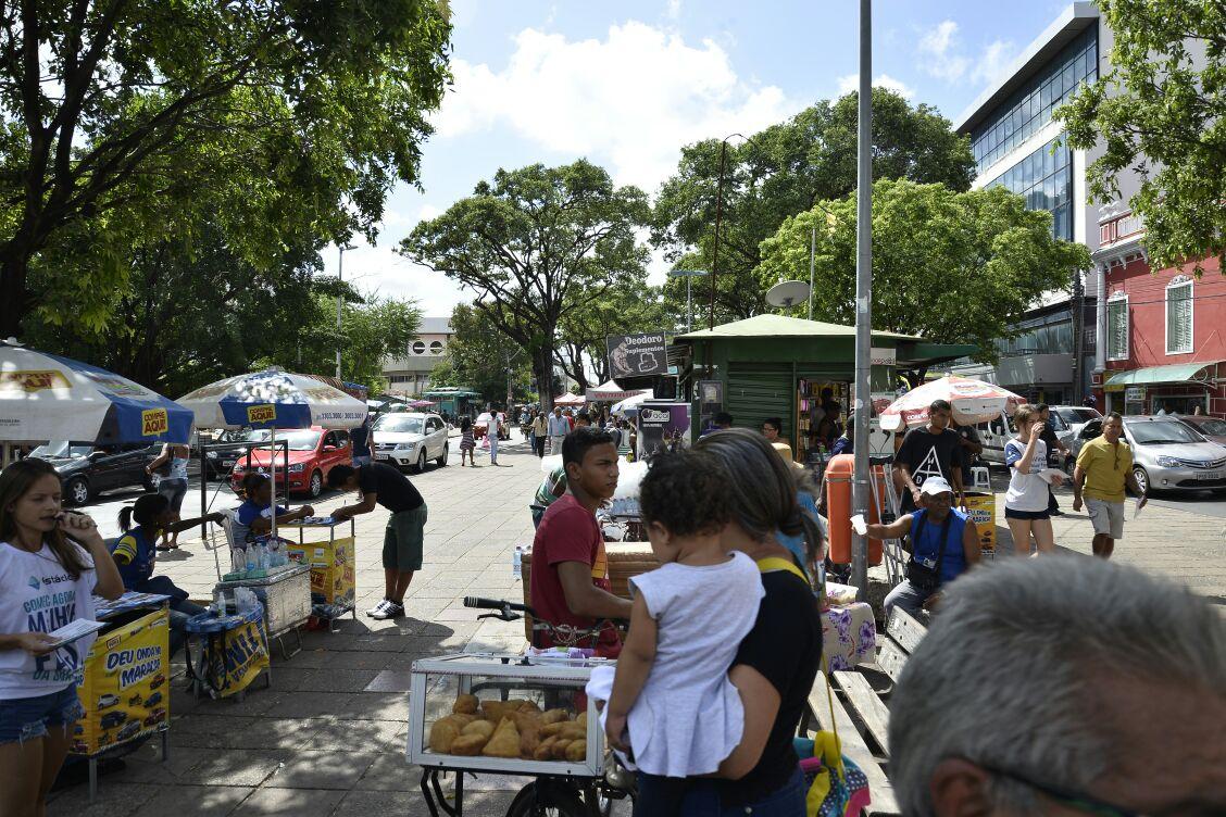 Praça Deodoro. Foto: Honório Moreira.