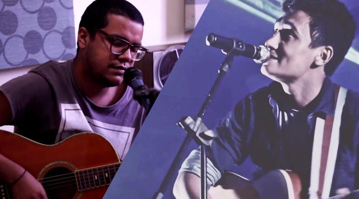 Ari Sousa (esquerda) e Israel Costa (direita).
