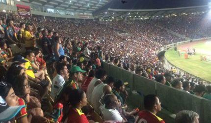 Quase 20 mil torcedores entraram de graça em jogos no Sampaio