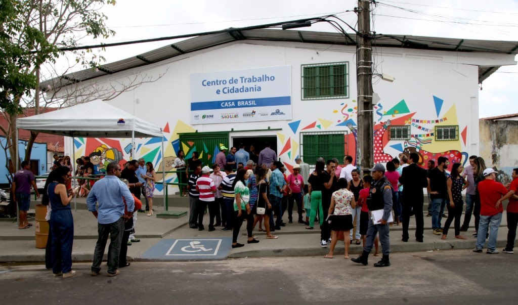 Novo Sine foi inaugurado na manhã desta sexta-feira para atender a área Itaqui-Bacanga