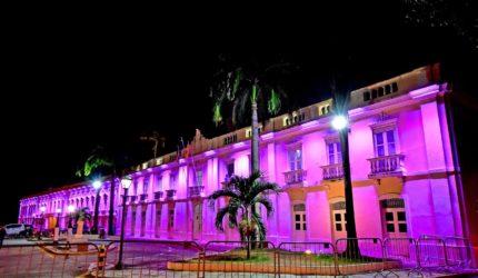 Outubro Rosa: Prédios de São Luís ganham iluminação especial