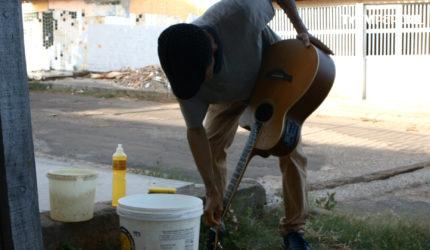 Lava jato de instrumentos musicais em São Luís? Sim, fomos conhecer