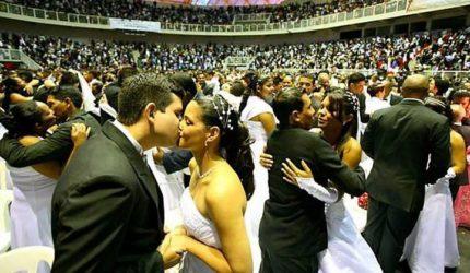 Casamento comunitário vai reunir 890 casais em São Luís