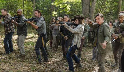 The Walking Dead chega ao centésimo episódio