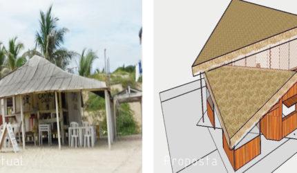 Projeto quer realocar bares irregulares do Araçagi em faixa urbanizada