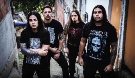 O death metal da Lacerated And Carbonized em São Luís