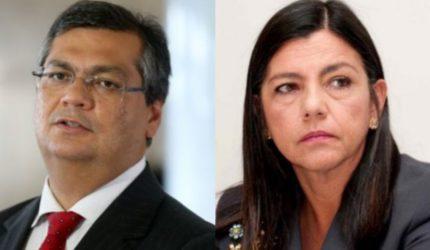 Flávio Dino e Roseana Sarney emparelhados em intenção de votos. Será?