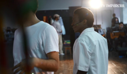 Visitamos o ensaio do Musical João do Vale que estreia dia 8, no TAA