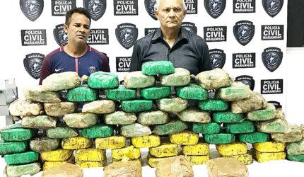 R$ 1 milhão em cocaína apreendidos no Maranhão