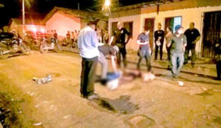 Região metropolitana registra cinco assassinatos em 24 horas
