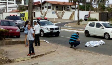 O acidente aconteceu nas proximidades da faculdade DeVry São Luís