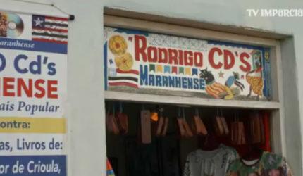 Uma loja que só vende CDs maranhenses