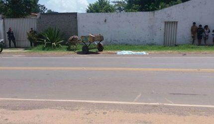 Homem é encontrado morto na estrada de Ribamar