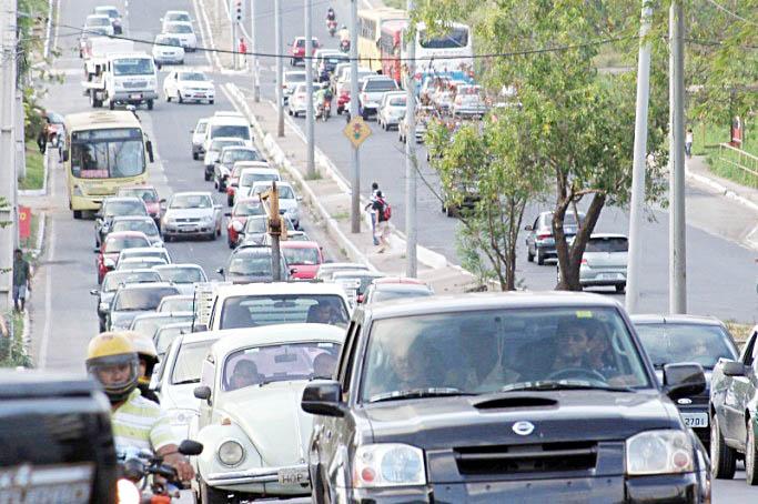 Taxa de licenciamento de veículos no RN sofrerá reajuste de 50%