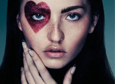 maquiagem glitter