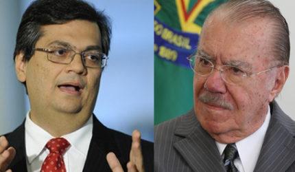 Flávio Dino declarou 'deplorável' o veto de Sarney