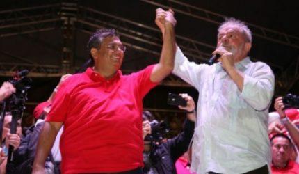 """""""Disputa sem Lula é um brutal retrocesso"""", afirma Dino"""