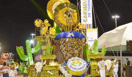 Marambaia conquista título inédito na Passarela do Samba