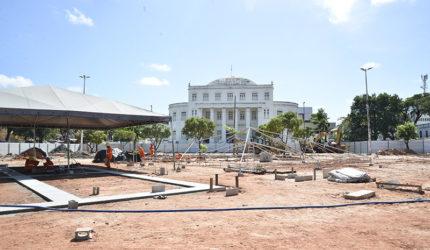 Em parceria com Iphan, Prefeitura vistoria obras no Centro