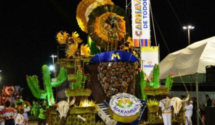 São Luís conhece campeã do Carnaval nesta quarta