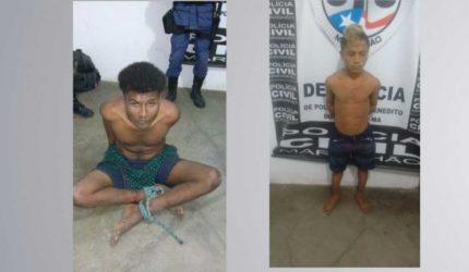 Dupla é presa por praticar latrocínio em Itapecuru-Mirim