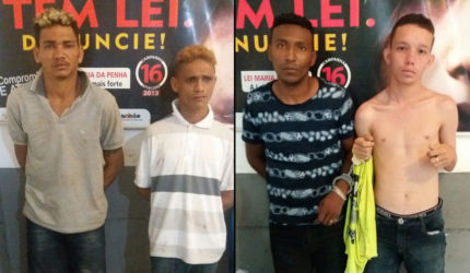 Polícia prende quatro pistoleiros no interior do Maranhão