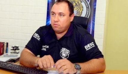 Pistola, celulares e notebook são encontrados em celas de policiais presos