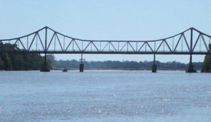 Tráfego na Ponte Metálica será alterado nesta segunda
