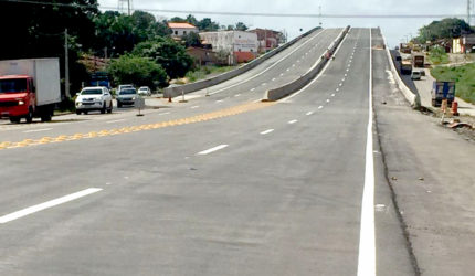 Viaduto de Bacabeira será liberado nesta segunda