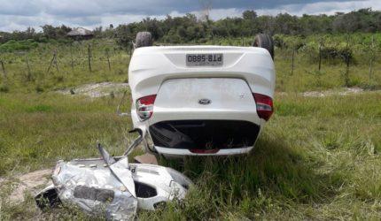 Estrangeira morre em estrada próximo a Santo Amaro