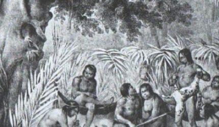 Quais eram as 27 tribos indígenas da ilha de Upaon-Açu?