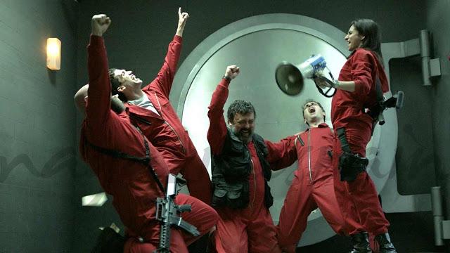 Netflix anuncia terceira parte de La Casa de Papel