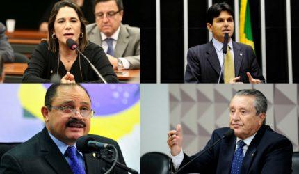 4 deputados federais trocam de partidos durante janela partidária
