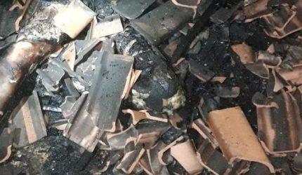 Homem é queimado vivo dentro da casa onde morava