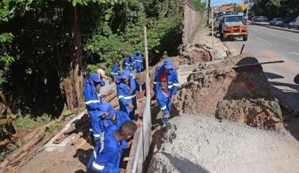 Serviços são intensificados em bairros de São Luís por conta das chuvas