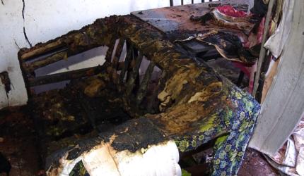 Criança morre carbonizada após casa pegar fogo em Timon