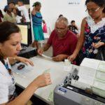 Eleitores lotam forum eleitoral de sao luis para regularizacao eleitoral